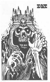 Original Lich depiction in D&D