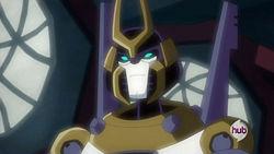 """Yoketron, Prowl's sensei, voiced by George """"Oh My!"""" Takei"""