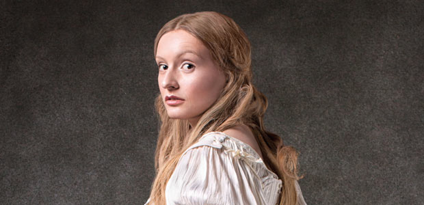 The White Lady of the Hohenzollern as seen in the Berlin Dungeon ghost tours